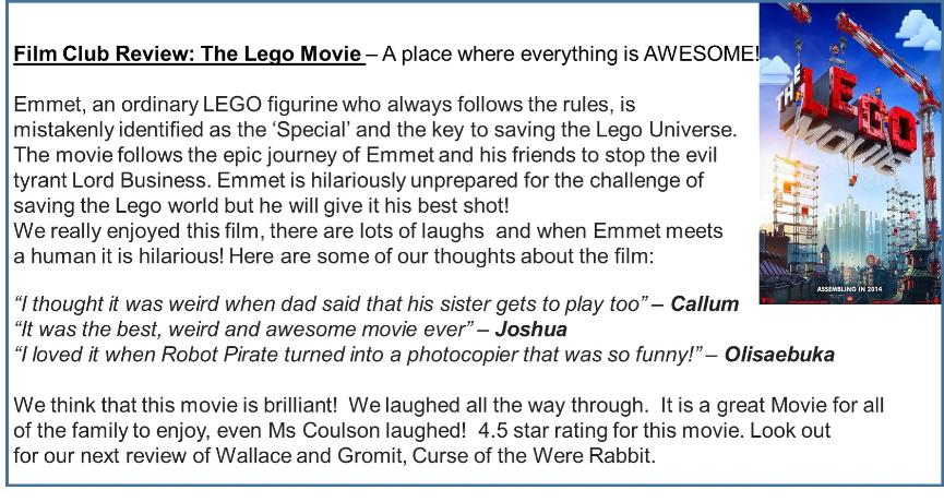 Film Review Lego Movie