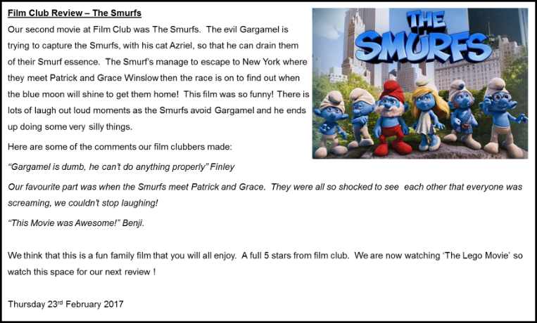 Smurfs Film Review